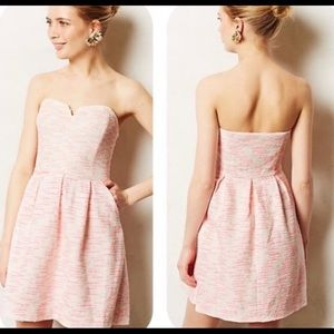 Anthropologie Moulinette Soeurs Pink Tweed Dress 4